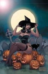 Bettie Page Halloween Sp Ltd Metal Cvr (C: 0-1-2)