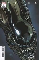 Alien #1 Nauck Headshot Var