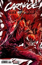 Carnage Black White And Blood #1 (Of 4) Checchetto 1:50 Var
