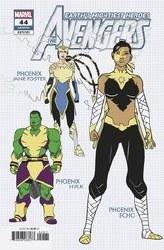 Avengers #44 Garron 1:10 Design Var
