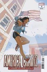 America Chavez Made In Usa #2 (Of 5) Bengal Var