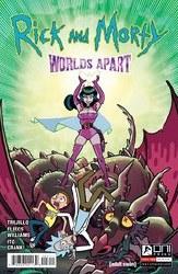 Rick And Morty Worlds Apart #3 Cvr A Fleecs