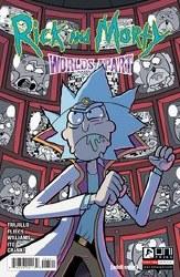 Rick And Morty Worlds Apart #3 Cvr B Williams
