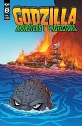 Godzilla Monsters & Protectors #2 Cvr A Dan Schoening