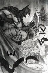 Batman Black & White #5 (Of 6) Cvr B Frison Var