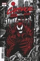 Carnage Black White And Blood #3 (Of 4) Artist A Var