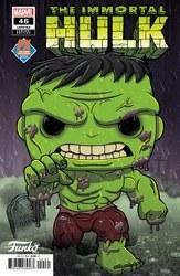 Immortal Hulk #46 Hayhurst Px Funko Var (Net)