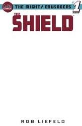 Mighty Crusaders One Shot The Shield Cvr H Blank Var