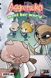 Aggretsuko Meet Her World #3 Cvr B Hickey