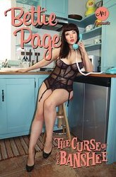 Bettie Page & Curse Of The Banshee #1 Cvr D Cosplay