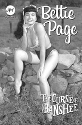 Bettie Page & Curse Of The Banshee #1 Cvr E Bettie Page Pin