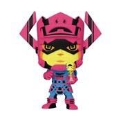 Pop Jumbo Marvel Galactus W/Surfer Px Blk Lt 10in Fig W/Chas