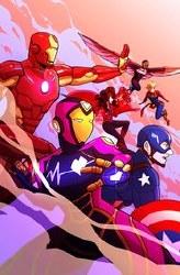 Marvel Action Avengers #2 Cvr A  Reyner