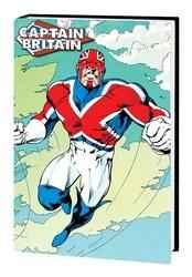 Captain Britain Omnibus Hc Davis Cvr