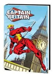 Captain Britain Omnibus Hc Wilson Dm Var