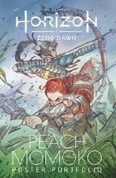 Horizon Zero Dawn Peach Momoko Poster Portfolio