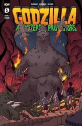 Godzilla Monsters & Protectors #5 (Of 5) Cvr A Schoening