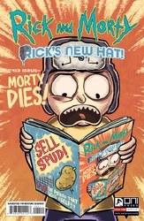 Rick And Morty Ricks New Hat #4 Cvr A Stresing