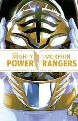 Mighty Morphin Power Rangers Necessary Evil Dlx Ed Hc Pt 01