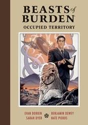 Beasts Of Burden Occupied Territory Hc (C: 0-1-2)