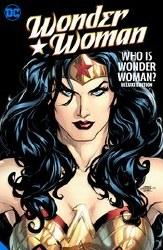 Wonder Woman Who Is Dlx Ed Hc