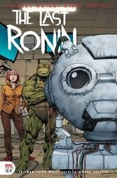 Tmnt The Last Ronin #3 (Of 5) 2nd Ptg