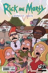 Rick And Morty Corporate Assests #2 Cvr A Williams