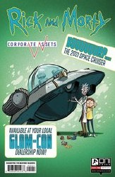Rick And Morty Corporate Assests #2 Cvr B Lee