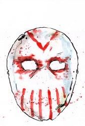 Maniac Of New York Bronx Burning #1 Cvr B Mutti Mask Var