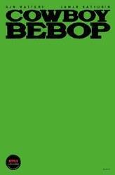 Cowboy Bebop #1 Cvr G Colored Blank Sketch