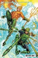 Aquaman Green Arrow Deep Target #3 (Of 7) Cvr B Meyers Card
