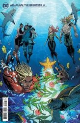 Aquaman The Becoming #4 (Of 6) Cvr B Randolph Card Stock Var