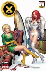 Giant Size X-Men Jean Grey & Emma Frost #1 C2E2 Tyler Kirkha
