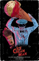 Ice Cream Man #25 Megan Hutchison-Cates Evil Dead Poster Homage Cover A Variant