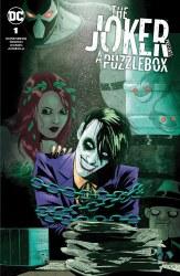 Joker Puzzlebox #1 Megan Hutchison-Cates Cvr A Var (8/3/21)