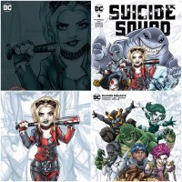 Suicide Squad #5 Ryan Kincaid Chibi SIGNED BUNDLE (7/7/21)