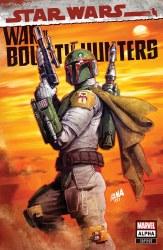 Star Wars War of the Bounty Hunters Alpha #1 David Nakayama Cover A Variant