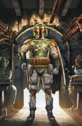 Star Wars War of the Bounty Hunters Alpha #1 Mico Suayan Cover B Virgin Variant