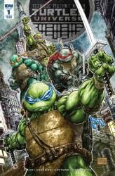 Teenage Mutant Ninja TurtlesUniverse #1 Freddie E Williams