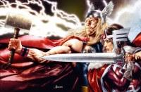 Thor #14 Jay Anacleto Wraparound Cover B Virgin Variant