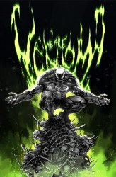 Venom #30 Kael Ngu Cover B Virgin B&W Variant