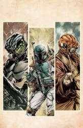 War of the Bounty Hunters #1 Paolo Villanelli Cover B Virgin