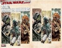 SW War of Bounty Hunters #1 Paolo Villanelli Cover Bundle