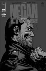 Negan Lives #1 Silver Var (Mr)