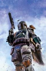 Star Wars War of the Bounty Hunters Alpha #1 Marco Turini Cover B Virgin Variant