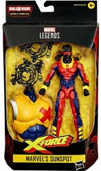 Marvel Legends Marvel's Sunspot 6IN AF