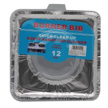 BURNER BIB 24/12PCS SQUARE