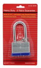 PAD LOCK LONG SHAKLE 65MM 6CT