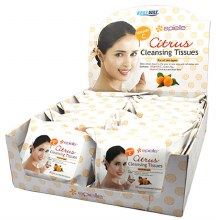 CLEANING TISSUES CITRUS 12CT