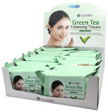 CLEANING TISSUES GREEN TEA 12C